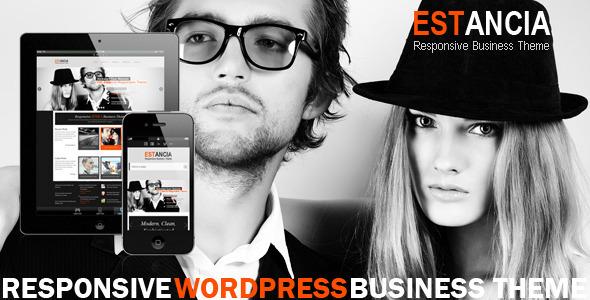 Wordpress Corporate Template Estancia - Responsive WordPress HTML 5 Theme