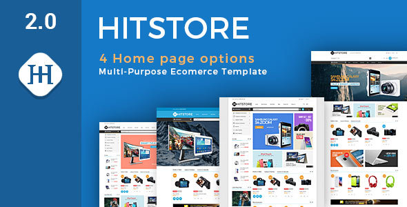 Wordpress Shop Template Hitstore - Electronics WooCommerce Theme