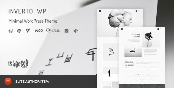Wordpress Kreativ Template Inverto WP - Minimal WordPress Theme