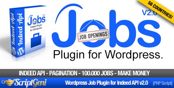 Wordpress Add-On Plugin Jobs Plugin for WordPress