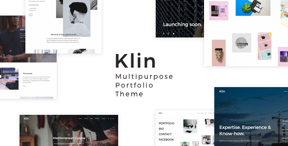 Wordpress Kreativ Template Klin - Multipurpose Portfolio Theme