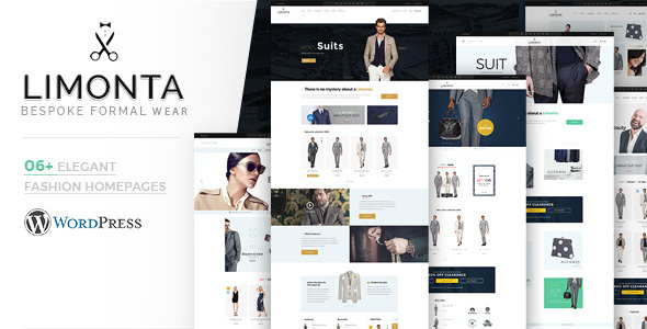 Wordpress Shop Template Limonta - WooCommerce WordPress Fashion Theme