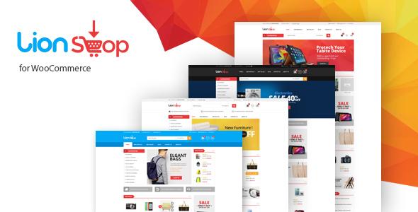 Wordpress Shop Template Lion - Responsive WooCommerce WordPress Theme