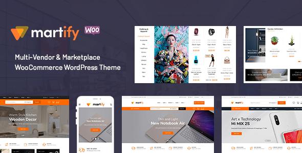 Wordpress Shop Template Martify - WooCommerce Marketplace WordPress Theme