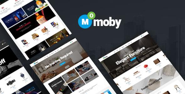 Wordpress Shop Template Moby - WordPress Multipurpose Theme