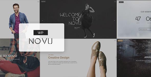 Wordpress Kreativ Template Novu - Modern & Creative WordPress Theme
