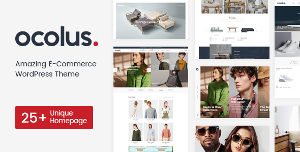 Wordpress Shop Template Ocolus - Multi-purposes WooCommerce Theme