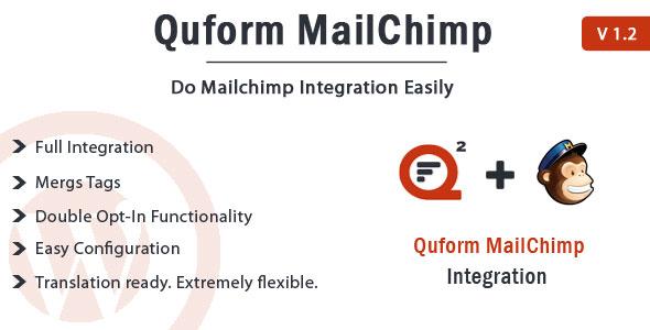 Wordpress Add-On Plugin Quform - MailChimp Integration
