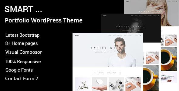 Wordpress Kreativ Template Smart - Minimal Portfolio WordPress Theme