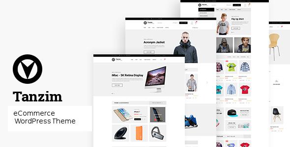 Wordpress Shop Template Tanzim - eCommerce WordPress Theme