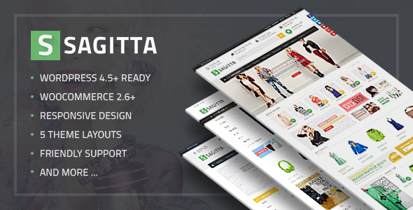 Wordpress Shop Template VG Sagitta - Mega Store Responsive WordPress Theme