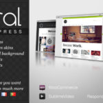 Wandbild: Business & Portfolio WordPress Template
