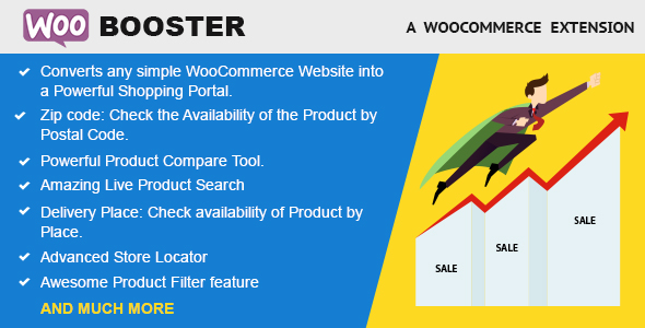 Wordpress E-Commerce Plugin WooBooster - WooCommerce Compare, Live Search, Product Filter, Store Locator