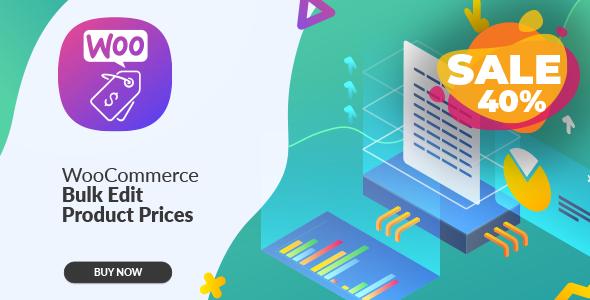 Wordpress E-Commerce Plugin WooCommerce Bulk Edit Product Prices