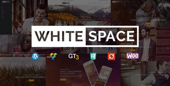 Wordpress Kreativ Template Portfolio WordPress Theme - WhiteSpace