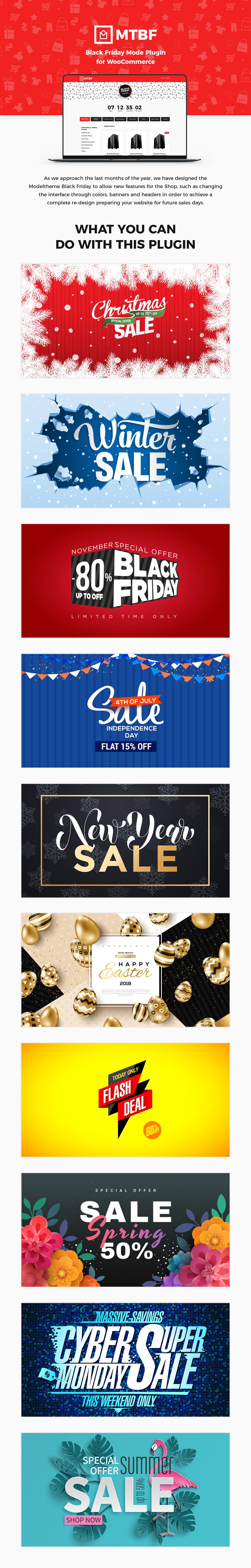 Black Friday / Christmas Sales Mode Plugin für WooCommerce - 2