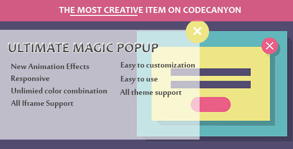 Visual Composer - Ultimate Magic Popup - CodeCanyon Artikel zum Verkauf