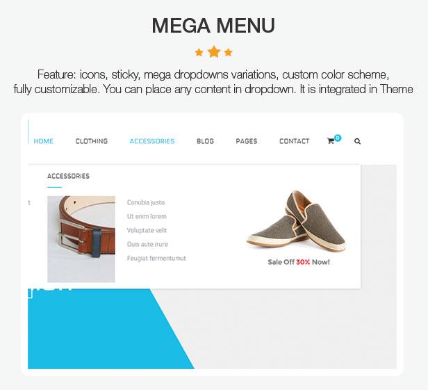 LEVANTE - Sauberes WooCommerce-WordPress-Layout - 9