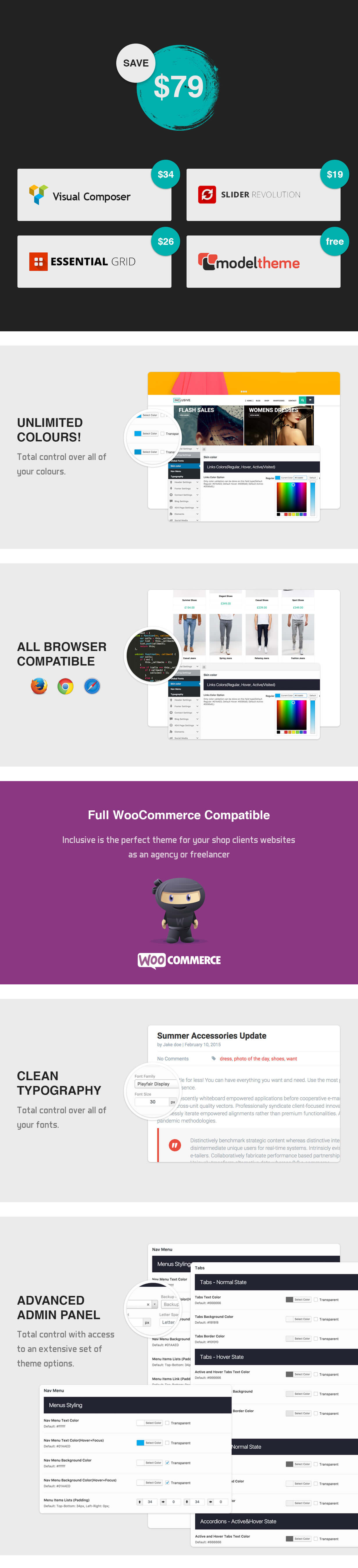 Inklusive - WooCommerce-Mehrzweck-WordPress-Vorlage - 5