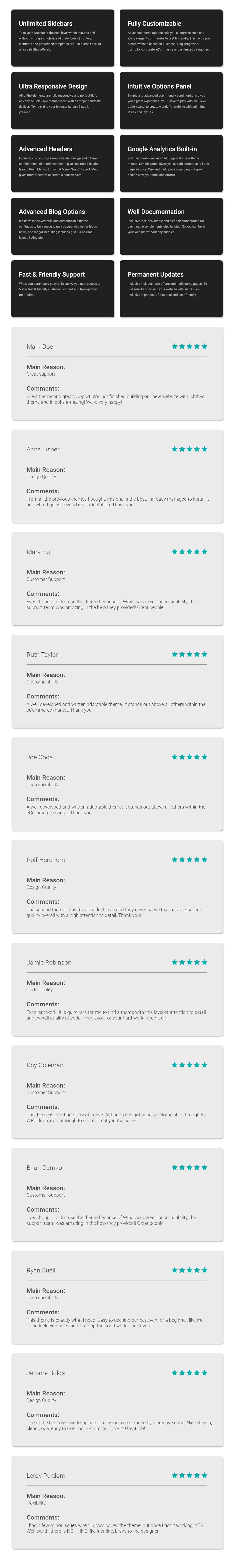 Inklusive - Mehrzweck-WordPress-Vorlage für WooCommerce - 6