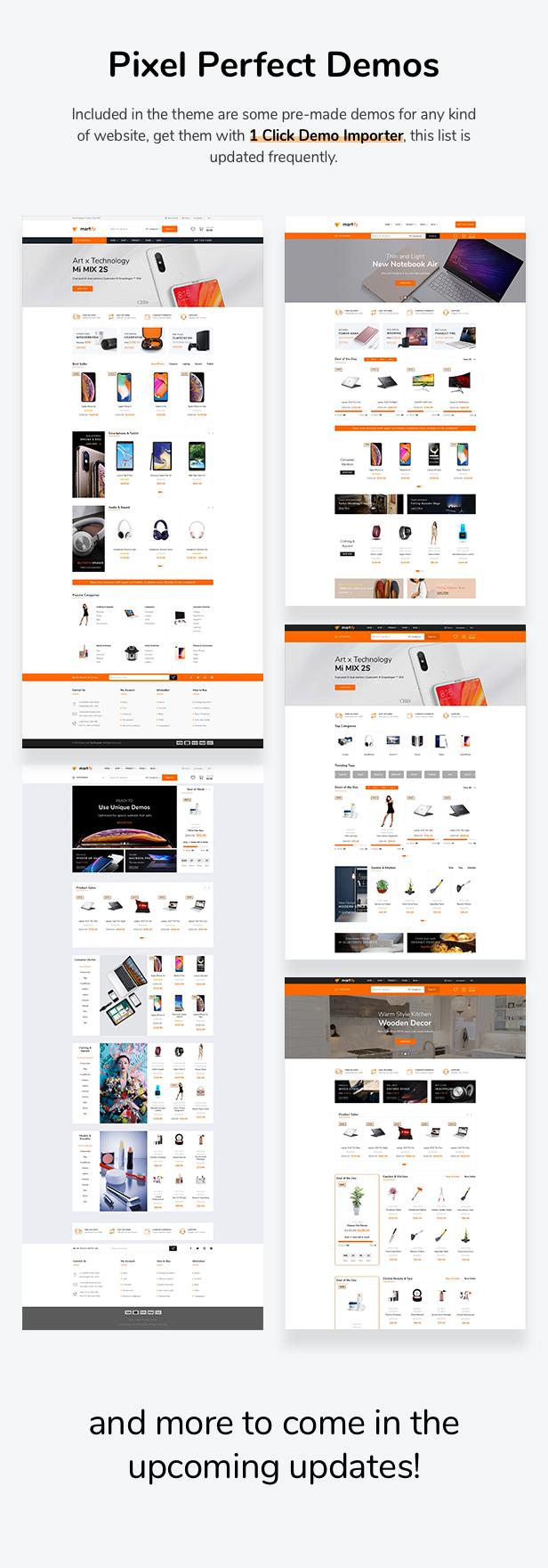 Martify - WooCommerce Marketplace WordPress Template - 4