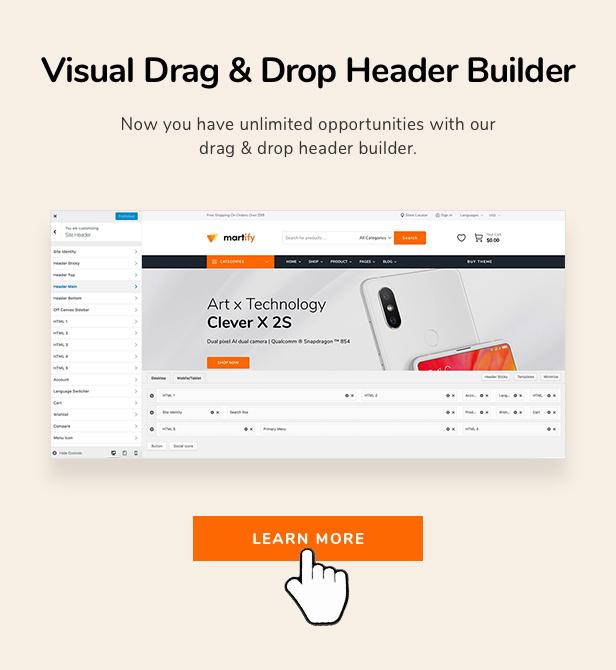Martify - WooCommerce Marketplace WordPress Template - 7