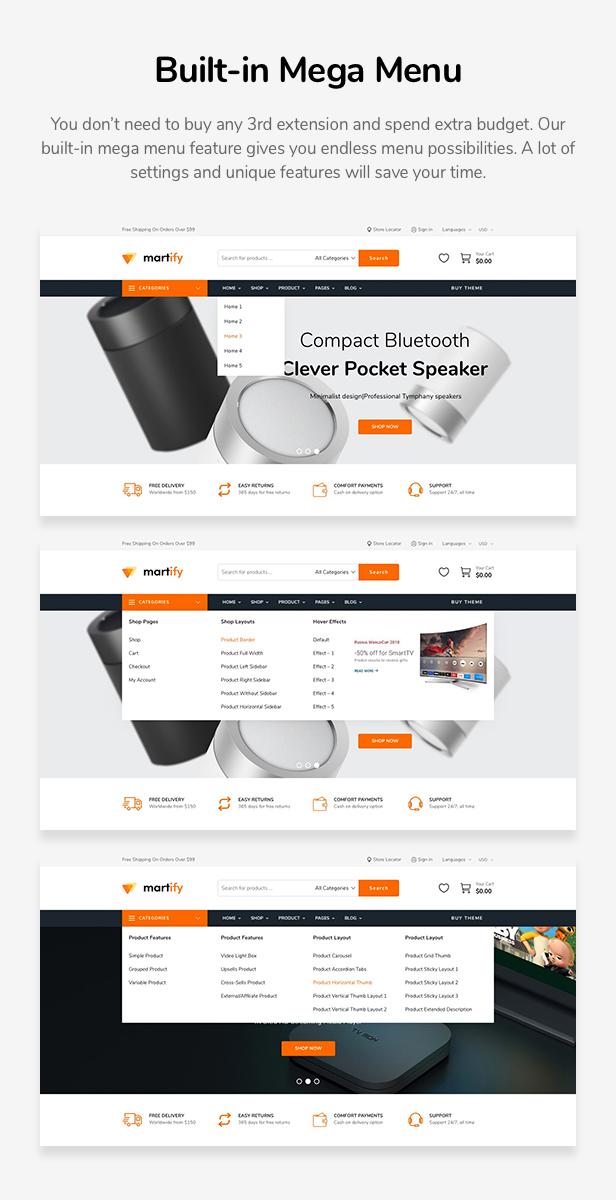 Martify - WooCommerce Marketplace WordPress Template - 10
