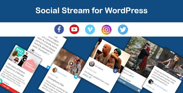 Saragna - Sozialer Stream WordPress