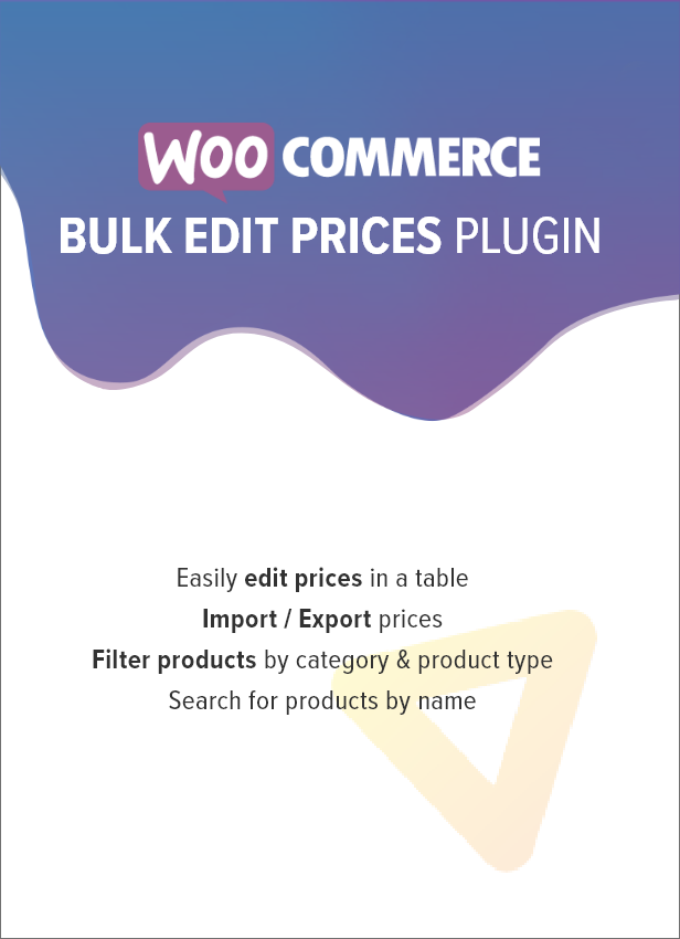 WooCommerce Bulk Produktpreise bearbeiten - 1