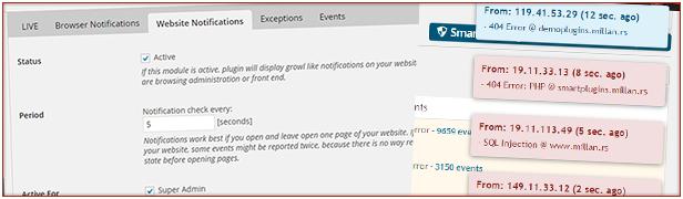 Website-Benachrichtigungen: Erhalten Sie schnelle Benachrichtigungen auf den Website-Seiten