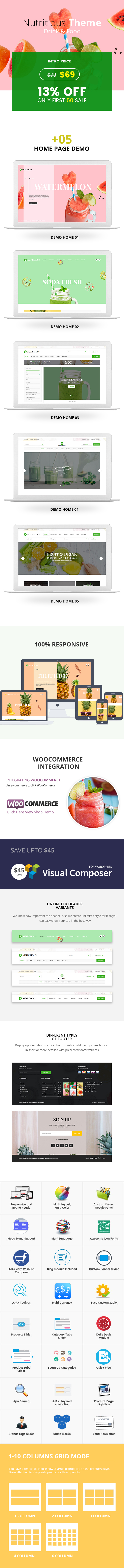 Nahrhaft - Bio-Lebensmittel WooCommerce Template - 4