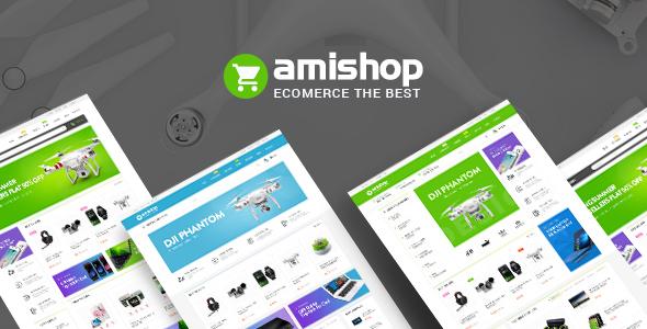 Wordpress Shop Template Amishop - Multipurpose WooCommerce WordPress Theme