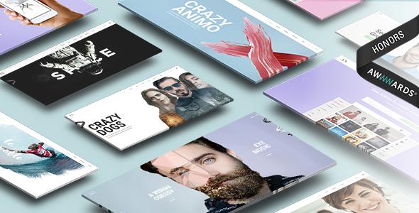 Wordpress Kreativ Template Animo – Creative & Clean Multi-Purpose WordPress Theme