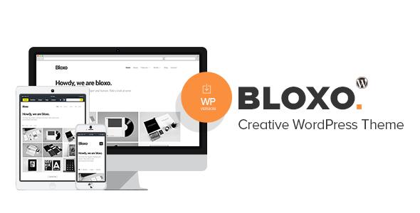 Wordpress Kreativ Template Bloxo - Minimal Freelancer Agency WordPress Theme