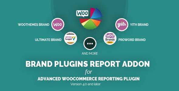 Wordpress E-Commerce Plugin Brand Plugins Report Addon for Woocommerce Reporting