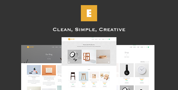 Wordpress Shop Template Easy Shop - WooCommerce WordPress Theme