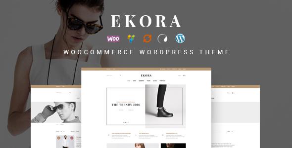 Wordpress Shop Template Ekora - Wonderful WordPress Woocommerce Theme