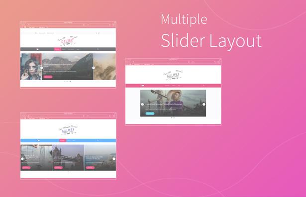 Mehrfach-Slider-Layout