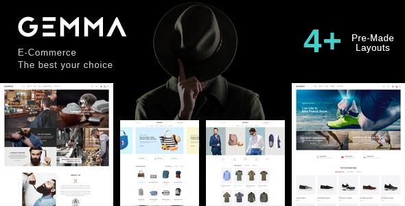 Wordpress Shop Template Gemma - Multipurpose WooCommerce WordPress Theme