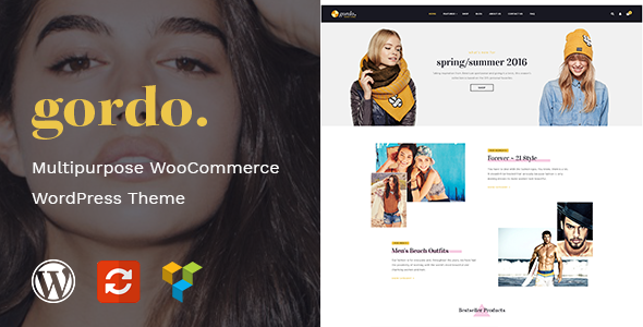 Wordpress Shop Template Gordo - Fashion Responsive WooCommerce WordPress Theme