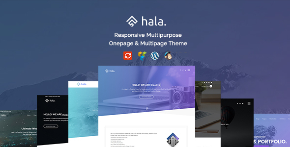 Wordpress Kreativ Template Hala - Creative Multi-Purpose WordPress Theme