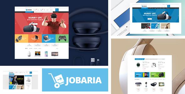 Wordpress Shop Template Jobaria - Technology Theme for WooCommerce WordPress