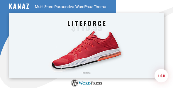Wordpress Shop Template Kanaz - Multi Store Responsive WordPress Theme