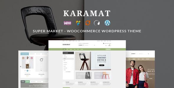 Wordpress Shop Template KaraMat - Supermarket WooCommerce WordPress Theme