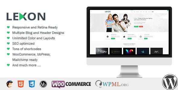 Wordpress Corporate Template Lexon - WP