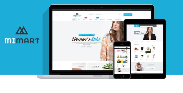 Wordpress Shop Template Mimart - Multipurpose WooCommerce WordPress Theme