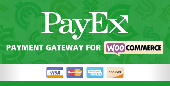 Wordpress E-Commerce Plugin Payex payment gateway for Woocommerce