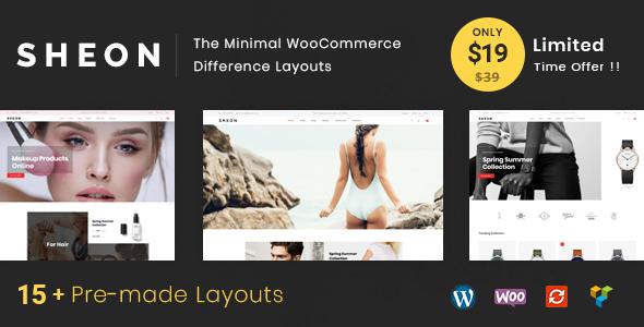 Wordpress Shop Template Sheon - Multipurpose WooCommerce Theme