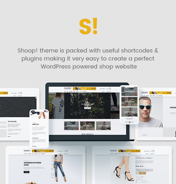 Shoop-WordPress-Vorlage