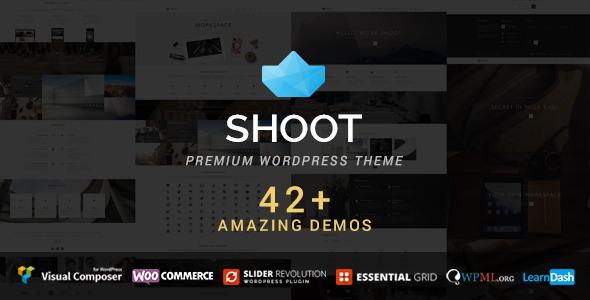 Wordpress Kreativ Template Shoot - Multipurpose & Multi Styled Theme